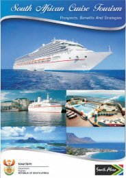 Cruise Tourism Report - SouthAfrica.TO