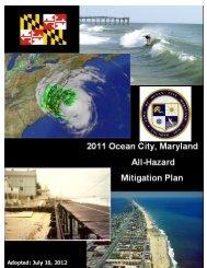 2011 Ocean City, Maryland All-Hazard Mitigation Plan