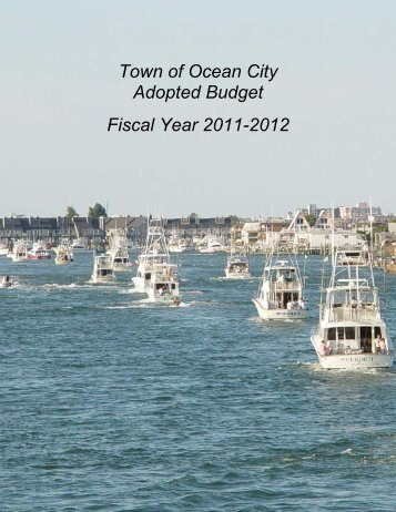 FY12 Budget Book (PDF) - Town of Ocean City