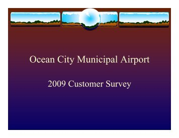 Ocean City Municipal Airport Survey - Town of Ocean City