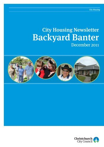 Backyard Banter - Christchurch City Council