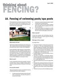 Fencing of Swimming Pools/Spa Pools - Christchurch City Council