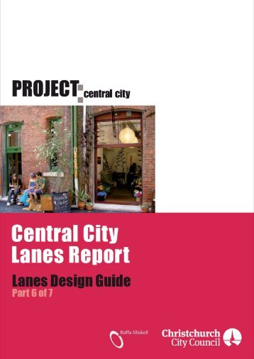 Lanes Design Guide - Christchurch City Council