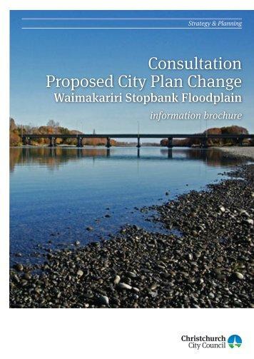 Waimakariri Stopbank Floodplain - Christchurch City Council