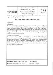 Priate Plan Change 19 - Islington Park - Christchurch City Council