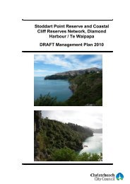 Stoddart Point Reserve and Coastal Cliff Reserves Network ...