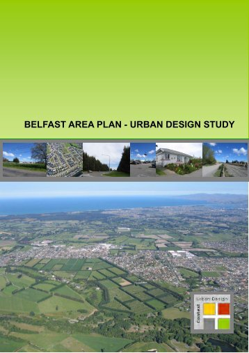 Belfast Area Plan - Urban Design Study - Christchurch City Council