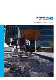 Annual Report 2010 - Christchurch City Council