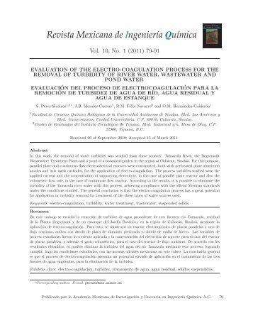 Revista Mexicana de Ingeniería Química - SciELO