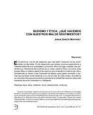 budismo y ética: ¿qué hacemos con nuestros ... - SciELO - UNAM