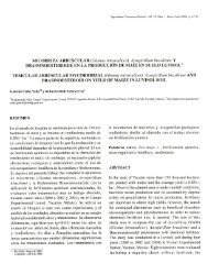 (Glomus intraradíces), Azospirillum brasilense AND ... - SciELO