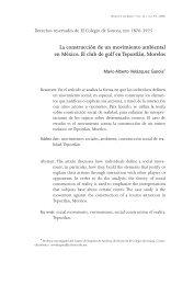 La construcción de un movimiento ambiental en México. El club de ...