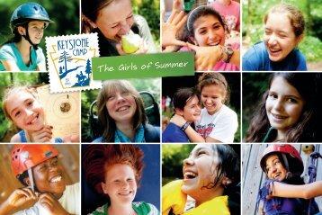 Keystone Camp: The Girls of Summer