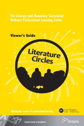 Viewer's Guide - Curriculum Services Canada