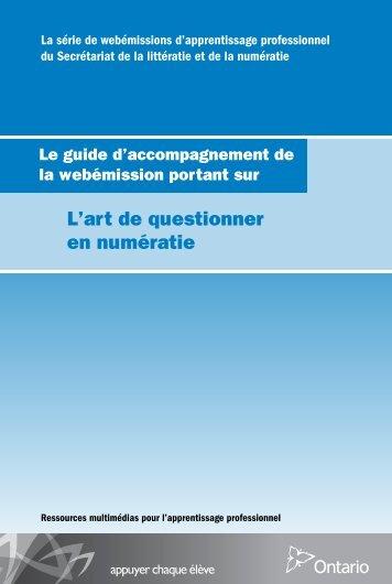 Télécharger le guide d'accompagnement - Curriculum Services ...