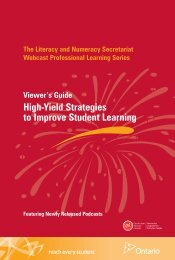 High-Yield Strategies to Improve Student Learning - Curriculum ...