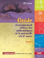 Guide d'enseignement efficace des mathématiques, de la ... - L'@telier