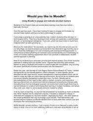 Would you like to Moodle?