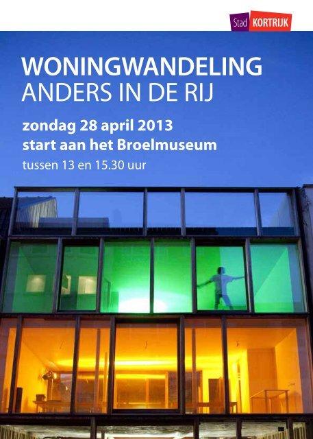 WONINGWANDELING ANDERS IN DE RIJ - Stad Kortrijk