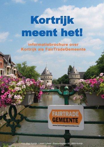 Fair Trade Gemeente - Stad Kortrijk