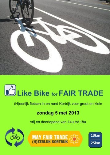 Brochure Like bike - Stad Kortrijk