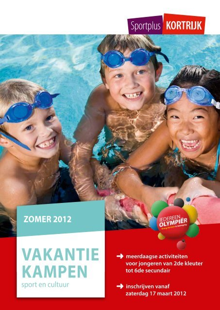 VAKANTIE KAMPEN - Stad Kortrijk