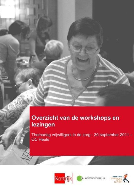 Overzicht workshops en lezingen