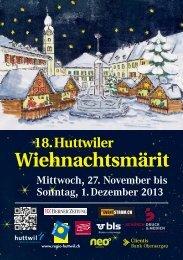 Detailinformationen und Rahmenprogramm 2013 - Oberaargau