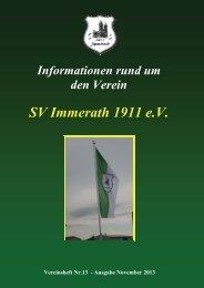 Heft 13 SV Immerath