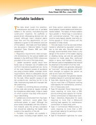 Portable ladders - National Safety Council