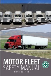 Elements of Fleet Safety - National Safety Council