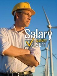 2011 Salary Survey - National Safety Council