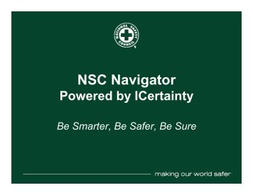 NSC Navigator