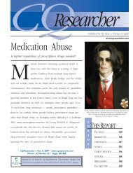 CQResearcher_MedicationAbuse - National Safety Council