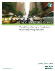 Understanding the distracted brain
