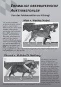Auktionsfohlen - Pferdezuchtverband Oberbayern eV - Seite 6