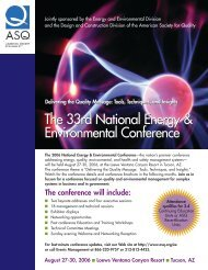 The 33rd National Energy & Environmental Conference The 33rd ...