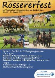 Rossererfest 2010 - Haflinger Reit- und Fahrverein Fischen eV