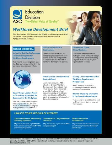 development of american society American society for training and development northeast florida chapter astd northeast florida is an astd chapter of excellence, recognized as a regional association for workplace learning and performance professionals.