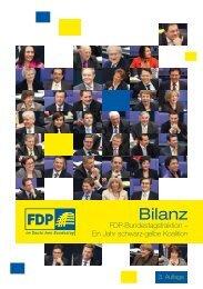 Bilanz der Fdp-Bundestagsfraktion (PDF)