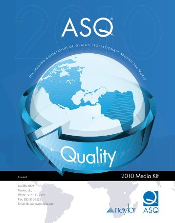 2010 Media Kit - American Society for Quality