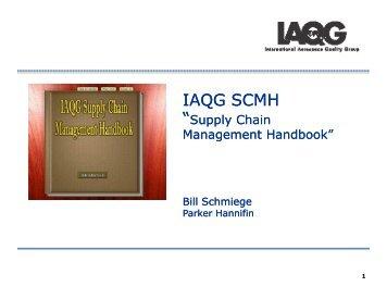 "Supply Chain Management Handbook""IAQG produced documents ..."