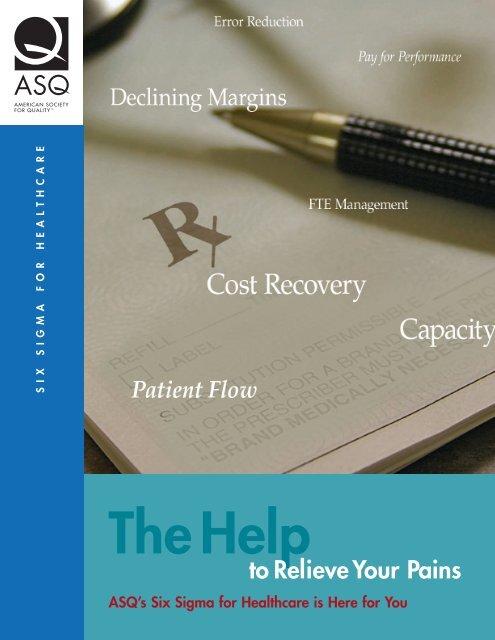 Healthcare Six Sigma Brochure