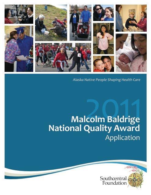 Malcolm Baldrige National Quality Award - American Society for ...