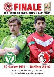 VIEL ERFOLG - Berliner Fußball-Verband e.v.