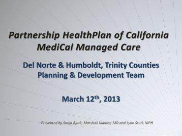 Northwest Region Kick-Off Presentation - March 12, 2013