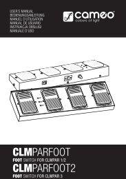 CLMPARFOOT CLMPARFOOT2
