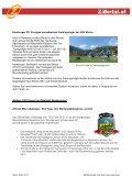 Action und Adventure im Zillertal: König Fußball ist nur eine ... - Seite 2