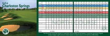 Score Card - Monmouth County Park System