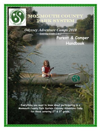 MONMOUTH COUNTY PARK SYSTEM Odyssey Adventure Camps ...